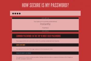 Passwort 1234 ist Schlecht
