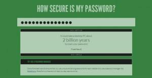 Ein sicheres Passwort mit verschiedenen Sonderzeichen und Zahlen